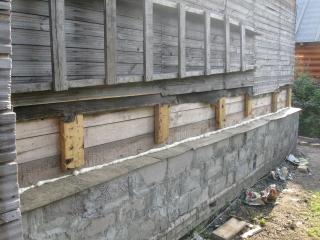 Как обложить деревянный дом блоками своими руками